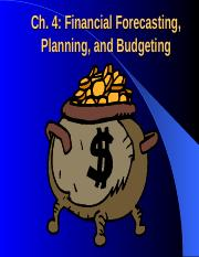 Financial Forecasting, Planning & Budgeting.ppt