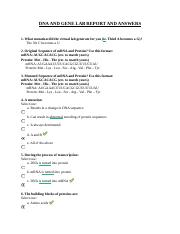 BIO 123 PROBABILITY AND GENETICS LAB REPORT AND ANSWERS ...