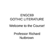 Lecture 1 - Welcome to the Course!