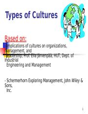Types of Cultures_Latest