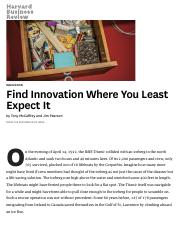 Find Innovation Where You Least Expect It.pdf