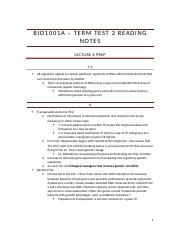 Bio1001a – term test 2 reading notes.docx