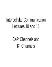 Lecture 10 and 11 2016