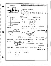 499_Mechanics Homework Mechanics of Materials Solution