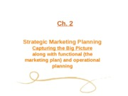 Ch. 02 Strategic Marketing Planning