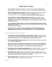 Sample Outline - Outline on Outlining comments hidden Fa2015.docx