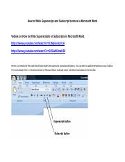 How to Write Superscript and Subscript in Microsoft Word.docx