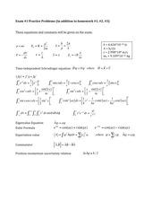 Quantum Chemistry Study Resources