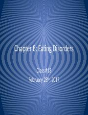 Lecture 13 - Eating Disorders.pptx