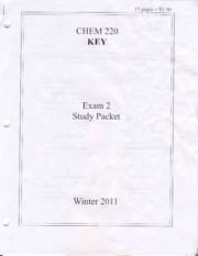 Exam2 Study Packet and Key