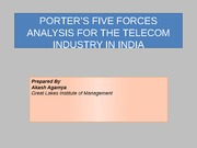 section4group2portersfiveforceanalysisfortelecomindustry-120902060607-phpapp01