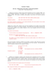 SAWorksheet07Solution