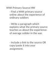 WWI Primary Source HW (1).docx