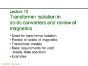 472 Lecture 12 Intro_transformer_isolation_magnetics_review