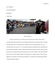 Planned Parenthood Protest.docx