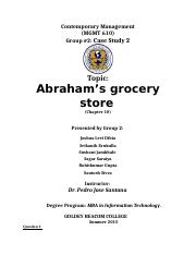 Case Study 2_Abraham's grocery_final.docx