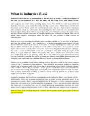 What is Inductive Bias.docx