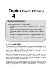 16150653Topic4ProjectPlanning