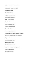 CUNY JJAY Introductory Spanish II Reading Sheet One