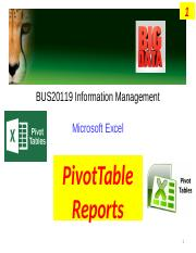Week 5 Tutorial - MS Excel PivotTable reports.pptx