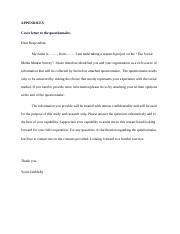 81095772 cover letter to mail questionnare
