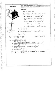425_Mechanics Homework Mechanics of Materials Solution
