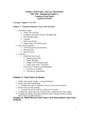 FRL 300 Common Exam Topic_Fall 2012_Updated