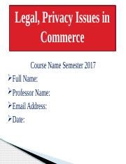 Legal Privacy Issues Slides with Conclusion.pptx