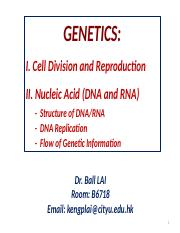 BCH1200 Genetics Lectures_Ball