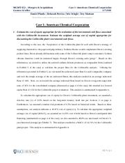 MGMT 652_Case 1_American Chemical Corp_Final version.docx