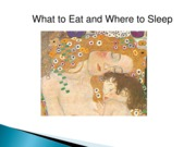 What+to+Eat+and+Where+to+Sleep