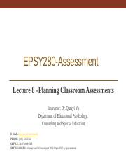 Lecture8_Classroom Assessments_9.26.2017_Student.pptx