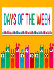 Days of the Week.ppt