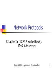 2- IPv4 Addresses