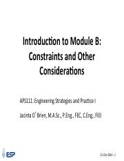 Lecture 8-1 Module B 1 - Introduction as PDF - 21 Oct 2014(1).pdf