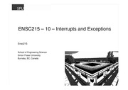 Ensc215-10-Interrupts_and_Exceptions_printerfriendly
