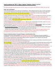 Questions, TEST 2, Egypt, Crete, Greece, FALL 2015$$.doc