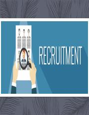 PROCESS OF RECRUITMENT (2)