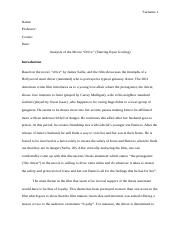 Analysis of the movie Drive.docx