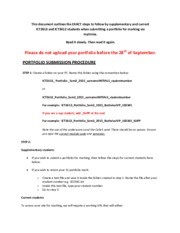 ASSIGNMENT SUBMISSION PROCEDURE_S2_2015