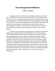 COLL148_W2_Time_Management_Reflective_Assignment_Canaday