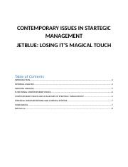 CONTEMPORARY ISSUES IN STARTEGIC MANAGEMENT.docx