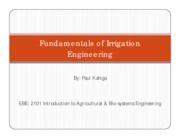 EBE 2101-Irrigation Engineering-Lecture notes by Paul kahiga.pdf