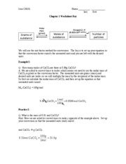 Ch1 Worksheet Key