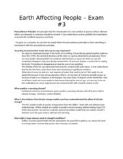 Exam #3 Review