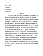 Violets Story: Chapter One-Creative Writing