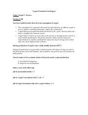 lysozyme lab report