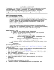 Assignment Guidelines [2011-2012]