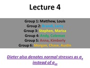 MTE 455 Lecture 4