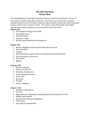 MIS 3063 Final Exam Review Sheet.docx